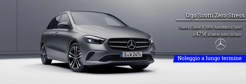 276fd4c194 Nuova Mercedes Classe B da 475€ al mese | Ugo Scotti Zero Stress ...
