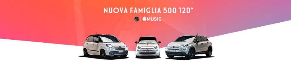 Promozione Nuova Gamma Fiat 500 120 Edizione Speciale Offerte